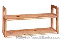 dřevěná závěsná polička z masivního dřeva borovice  drewfilip 7