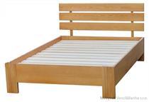 dřevěná jednolůžková postel z masivního dřeva Symfonia chalup