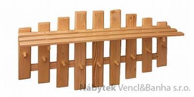 dřevěný závěsný věšák z masivního dřeva drewfilip 17