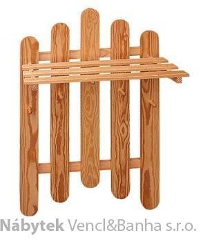 dřevěný závěsný věšák z masivního dřeva drewfilip 5