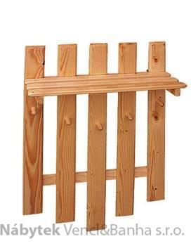 dřevěný závěsný věšák z masivního dřeva drewfilip 22