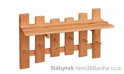 dřevěný závěsný věšák z masivního dřeva drewfilip 20