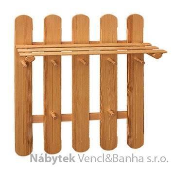 dřevěný závěsný věšák z masivního dřeva drewfilip 10