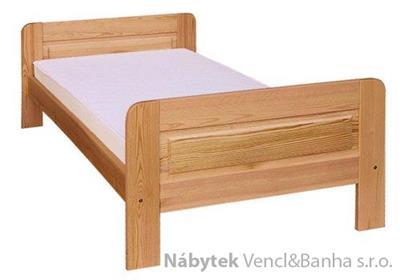 dřevěná dvojlůžková manželská postel z masivního dřeva drewfilip D2