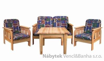 dřevěný jídelní set z masivního dřeva borovice drewfilip 9-11