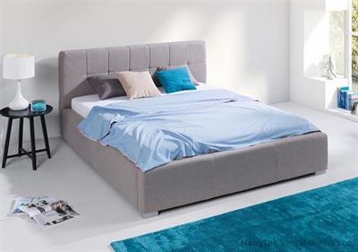 dvoulůžková čalouněná manželská postel Montana maride