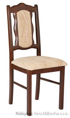 dřevěná jídelní židle z masivu Boss 6 drewmi
