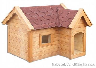dřevěná psi bouda MO141 pacyg