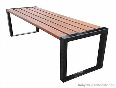 dřevěná zahradní lavice z masivního dřeva Nowoczesna profil 150 fiema
