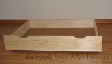 dřevěný úložný prostor, šuple pod postel 90x57x19 maxidre
