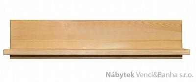 dřevěná závěsná polička z masivního dřeva borovice PK151 pacyg