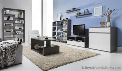 sektorový nábytek, obývací pokoj z dřevotřísky Zonda 3 maride