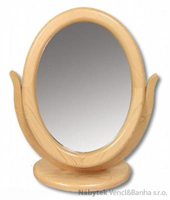 dřevěné zrcadlo toaletka z masivního dřeva borovice LT106 pacyg