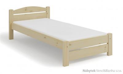 dřevěná jednolůžková postel Basia maršal