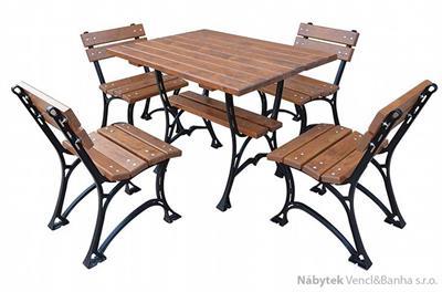 dřevěný zahradní nábytek Faktor 100 fiema