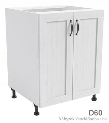 kuchyňská skříňka dolní z laminátové DTD Royal D60 gala