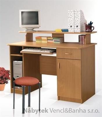 moderní psací stolek PC z dřevotřísky Max maride