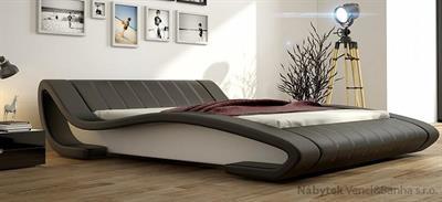 dvoulůžková čalouněná manželská postel Sultan 160 chojm