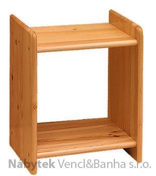 dřevěný noční stolek z masivního dřeva borovice 26 drewfilip