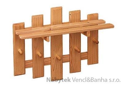 dřevěný závěsný věšák z masivního dřeva drewfilip 19