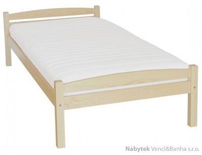 dřevěná jednolůžková postel z masivního dřeva borovice Ania drewme