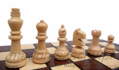 dřevěné šachy turistické Školní 154 mad
