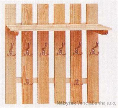 dřevěný závěsný věšák z masivního dřeva drewfilip 13