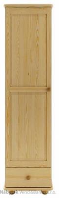 dřevěná šatní skříň z masivního dřeva borovice SF124 pacyg