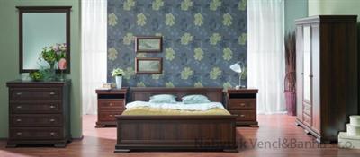 stylová ložnicová sestava nábytku z dřevotřísky ložnice Kora gala
