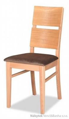 řevěná jídelní židle z masivního dřeva dub R-83 chojm