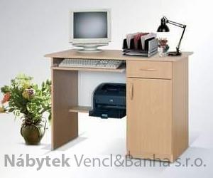 moderní psací stolek PC z dřevotřísky 01 maride