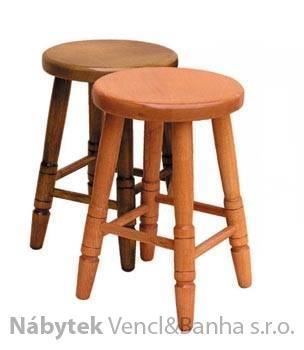 dřevěný jídelní taburet z masivního dřeva buk drewfil 6