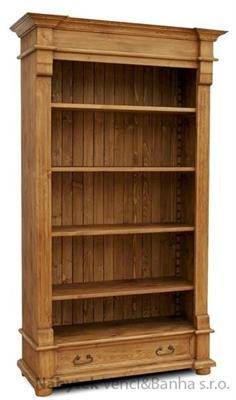 dřevěný stylový regál D11 euromeb