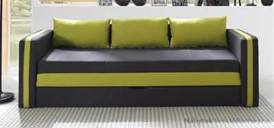 moderní pohovka gauč rozkládací Euforia duo gib zelená