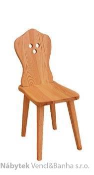 dřevěná jídelní židle z masivního dřeva borovice drewfilip 11