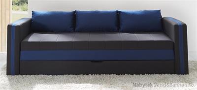 moderní pohovka gauč rozkládací Euforia duo gib modrá