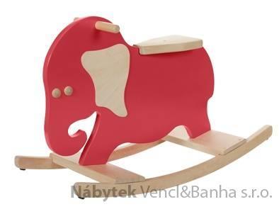 dětská dřevěná houpačka slon KE02 gepetto skladem