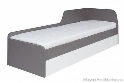 moderní jednolůžková postel z dřevotřísky  s úložným prostorem Zonda Z21 maride