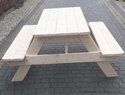 dřevěný zahradní nábytek pivní set Piwny botodre