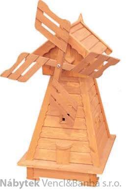 dřevěný zahradní dekorační větrný mlýn drewfilip 66 Akce