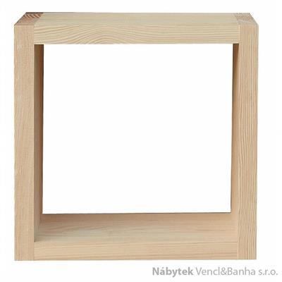 dřevěná polička z masivu  Mango IV drewm