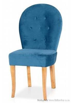 dřevěná jídelní židle z masivního dřeva Oval chojm