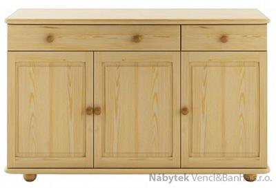 dřevěná dolní skříňka ke kredenci nebo příborníků KW110 pacyg