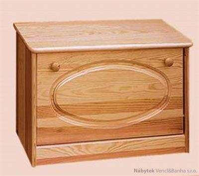 dřevěný botník z masivního dřeva borovice drewfilip 14