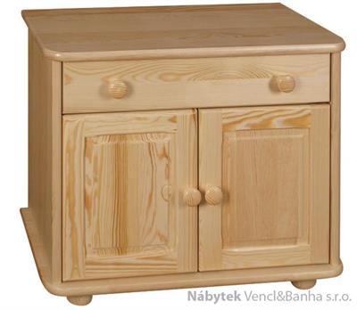 dřevěný botník z masivního dřeva borovice drewfilip 17