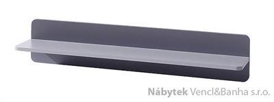moderní závěsna polička z DTD kolekce Lido L polka 100 gib