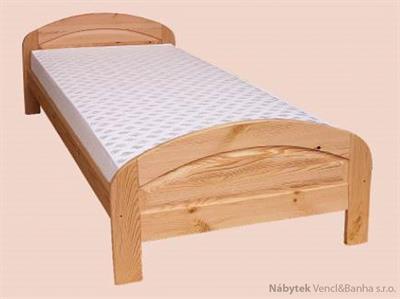dřevěná jednolůžková postel z masivního dřeva drewfilip 6 E