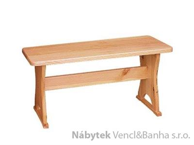dřevěná jídelní lavice z masivního dřeva borovice drewfilip 8