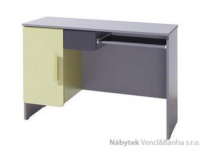 moderní PC stolek z dřevotřísky Lido L Biurko gib