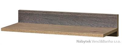 moderní závěsná polička z dřevotřísky R8 Romero dolm